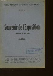 Souvenir De L'Exposition - Couverture - Format classique