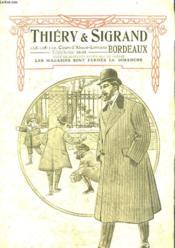 Thery & Sigrand - Vetements - Automne-Hiver 1908-1909 - Couverture - Format classique