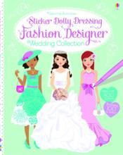 Vente livre :  Sticker dolly dressing ; fashion designer wedding collection  - Fiona Watt