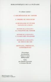 Oeuvres t.2 - 4ème de couverture - Format classique