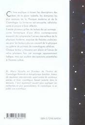 Jeux Cosmiques L'Univers Raconte Par Les Reves D'Isabelle - 4ème de couverture - Format classique