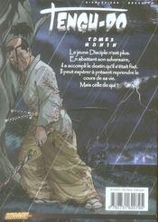 Tengu-do t.2 ; ronin - 4ème de couverture - Format classique