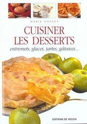 Cuisiner Les Desserts - Intérieur - Format classique