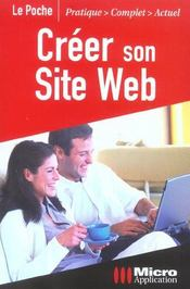 Vente livre :  Creer Son Site Web-Le Poche  - Collectif