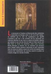 Art gothique (l') - 4ème de couverture - Format classique