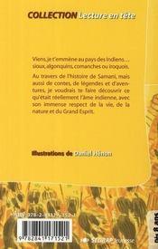Lecture En Tete ; Histoires D'Indiens ; Ce2, Cm1 - 4ème de couverture - Format classique