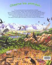 Observe les animaux sauvages et trouve l'intrus - 4ème de couverture - Format classique
