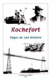 Rochefort : Pages De Son Histoire - Couverture - Format classique