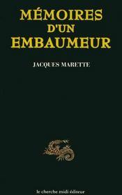 Mémoires d'un embaumeur - Intérieur - Format classique