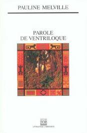 Parole De Ventriloque - Intérieur - Format classique