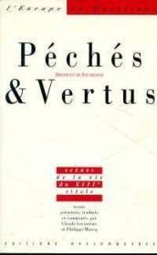 Peches Et Vertus - Couverture - Format classique