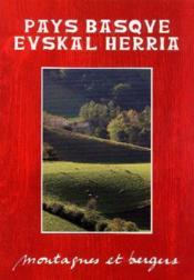 Pays Basque Euskal Herria - montagnes et bergers t.1 - Couverture - Format classique
