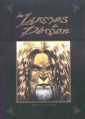 Coffret Les Larmes Du Demon T1a 3 - Intérieur - Format classique
