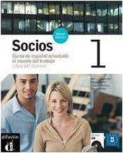 Socios 1 Libro Del Alumno + Cd - Couverture - Format classique