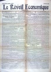 Reveil Economique (Le) N°930 du 30/01/1935 - Couverture - Format classique