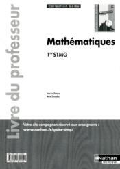 Mathematiques 1e Stmg (Galee) - Couverture - Format classique