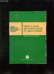 Mises A Jour En Gynecologie Et Obstetrique. - Couverture - Format classique
