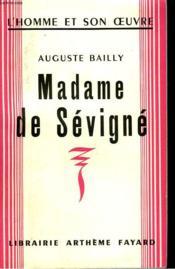 Madame De Sevigne. - Couverture - Format classique