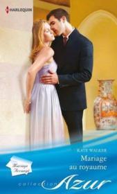 Mariage au royaume - Couverture - Format classique