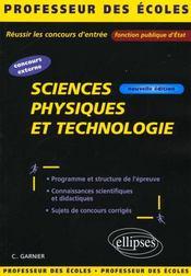 Sciences physiques et technologie nouvelle edition - Intérieur - Format classique