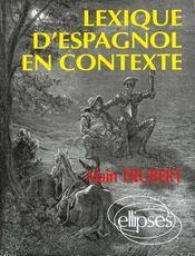Lexique D'Espagnol En Contexte - Intérieur - Format classique