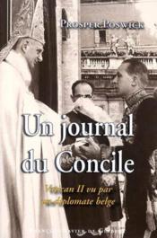 Un journal du concile - Couverture - Format classique