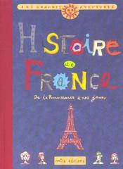 Histoire de France t.2 ; de la renaissance à nos jours - Intérieur - Format classique