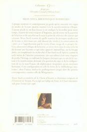 Bibliothèques intérieures - 4ème de couverture - Format classique