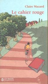 Le Cahier Rouge - Intérieur - Format classique