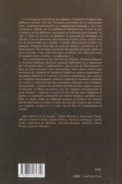 De L'Adoption. Des Pratiques De Filiation Differentes - 4ème de couverture - Format classique