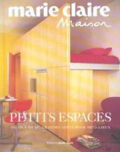 Petits Espaces - Couverture - Format classique