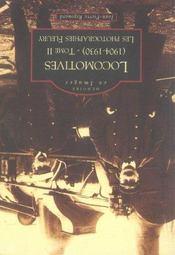 Locomotives (1904-1930) t.2 ; les photographies fleury - Intérieur - Format classique