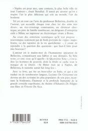 Ainsi parlait bellavista - 4ème de couverture - Format classique