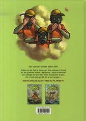 Toxic planet t.2 ; espèce menacée - 4ème de couverture - Format classique
