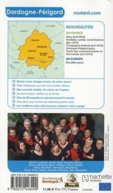 Guide Du Routard ; Dordogne ; Périgord (Edition 2010) - 4ème de couverture - Format classique