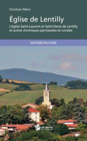 Vente livre :  Église de Lentilly  - Christian Mens