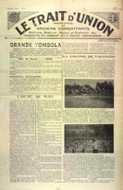 Trait D'Union (Le) N°2 du 01/02/1935 - Couverture - Format classique