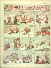 Dimanche Illustre N°100 du 25/01/1925 - 4ème de couverture - Format classique