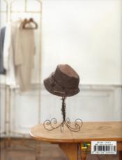 Chapeaux et cie ; spécial mamans et enfants - 4ème de couverture - Format classique