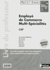 Employe Commerc Multi-Spe Cap - Couverture - Format classique