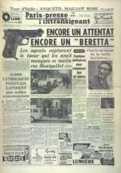 Paris Presse L'Intransigeant N°4814 du 03/06/1960 - Couverture - Format classique
