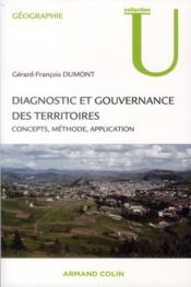 Diagnostic et gouvernance des territoires ; concepts, méthodes, application - Couverture - Format classique