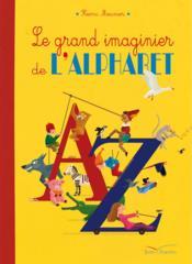 Le grand imaginier de l'alphabet - Couverture - Format classique