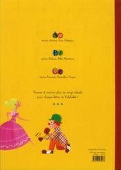 Le grand imaginier de l'alphabet - 4ème de couverture - Format classique