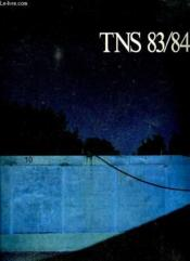 Tns 83 / 84 N° 1 Septembre 1983. Interview De David Warrilow, Calendrier De La Saison 83 / 84, La Grande Puissance Du Merveilleux Sur Le Corp Humain... - Couverture - Format classique