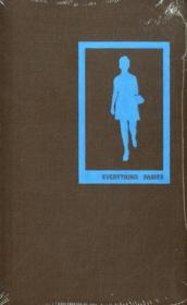 Everything Passes /Anglais - Couverture - Format classique