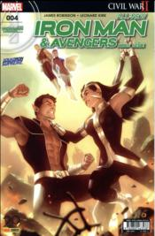 Vente livre :  All-new Iron Man & Avengers HORS-SERIE N.4  - Robinson-J+Kirk-L+La - James Robinson - All-New Iron Man & Avengers