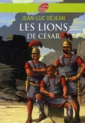 Les lions de César - Couverture - Format classique