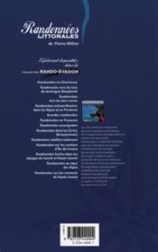Randonnees littorales en bretagne - 4ème de couverture - Format classique