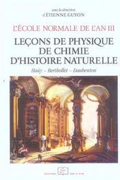 Cours De L'An Iii/Sciences - Intérieur - Format classique